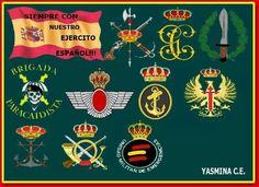 Emblemas del Ejercito Español