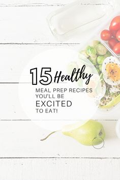 You asked and here it is: My FREE 15 Healthy Meal Prep Recipe E-Book. Get your copy now by clicking!!!   Don't meal prep? Thank's ok, that does have to stop you from enjoying these recipes whenever you want. They do not need to be meal prepped to taste AMAZING!  I cannot wait to receive your feedback on some of my absolute favorite recipes! Healthy Summer Recipes, High Protein Recipes, Lunch Recipes, Healthy Meals, Healthy Eating, Healthy Breakfast Meal Prep, Macro Meals, Inexpensive Meals, Free Meal