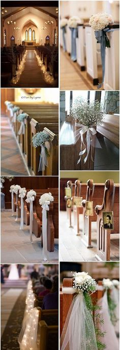 Image result for church wedding decorations