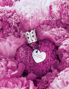 Vera Wang's Pink Princess -- for my daughter :-) fun floral bouquet that opens with luminous pink grapefruit and raspberry sorbet, introducing the heart of pink hibiscus and creamy honeysuckle. An accord of marshmallow and white amber provide some sweetness to the base of the perfume.