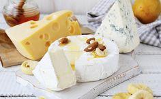Tipos de queijo e + saudáveis