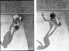 Untitled photos from Craig Fineman's 'Pools' series of skater boys in the 1970's