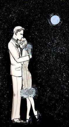 Gatsby and Daisy by Courtney Thomas