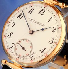 PATEK PHILIPPE & CO GENEVA SOLID 14K GOLD 20 JEWELS CHRONOMETER - 1911