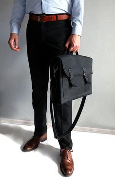 Laptop leather bag Mens briefcase Business bag Messenger bag | Etsy Brown Leather Messenger Bag, Leather Laptop Bag, Black Leather Backpack, Leather Briefcase, Leather Wallet, Macbook Bag, Briefcase For Men, Leather Bags Handmade, Custom Bags
