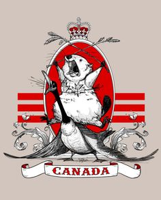 "This reminds me of @Natasha 's ""great Canadian beaver fairy."" Which I still have."