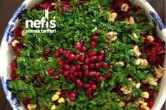 Beet Salad Recipe Kitchen Decor - Home creative ideas Appetizer Salads, Appetizers, Turkish Salad, Turkish Recipes, Ethnic Recipes, Beet Salad Recipes, Macaroni Salad, Beets, Vegetable Recipes