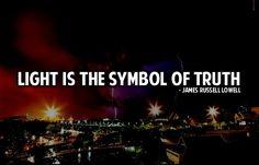Light is the symbol of truth. #LightingDoctor #InstallLighting #Quotes www.lightingdoctor.ca