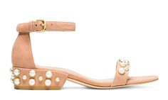 STUART WEITZMAN  - The Pearl-Encrusted Sandals You'll Want To Wear All Spring Long and More Dope Stuff
