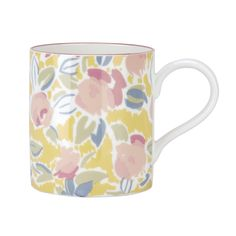 I love this 80's print mug from Laura Ashley...Husband disagrees with me!