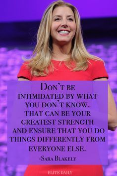 Inspiring quotes from career women.