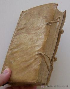 Libro de religion en pergamino Ca. 1771 Misterio Trinidad Angeles y hombres, Encarnacion Sacramentos