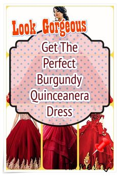 Burgundy Quinceanera dress- These stylist tips from social events party planners will help you identify an ideal Burgundy Quinceanera dress in no time! Burgundy Quinceanera Dresses, Social Events, All About Eyes, Our Girl, 15 Dresses, Looking Gorgeous, How To Memorize Things, Princess, Party Planners