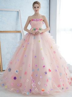 Cheap wedding dress, Buy Quality draped wedding dress directly from China wedding dress 2017 Suppliers: Taoo Zor Robe de mariage Luxury Princess Flowers Bridal Wedding Dresses Ball Gown vestido de noiva Draped Wedding Dresses 2017 Indian Gowns Dresses, Unique Prom Dresses, Wedding Dresses For Girls, Ball Dresses, Pretty Dresses, Evening Dresses, Girls Dresses, Bridesmaid Dresses, Pregnant Wedding Dress