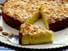 ricotta, almond, lemon cake