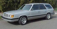 1985 Dodge Aries Wagon...my 2nd car was one of these