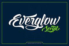 Everglow Script (35% Off) by Seniors on Creative Market