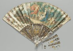 Fan, French, mid-18th century