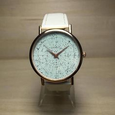 Constellation Watch. Constellation Jewelry. Constellation Map. Constellation Print. Stars. Galaxy. Womens Watches. Mens Watch. Gift. Spring *Images owned by Freeforme Ships Worldwide Type: Quartz Wrist Size: Adjustable from 17 cm to 21 cm (6.69 inches to 8.26 inches) Display: Analog Dial Window Material: Glass Case Material: Metal Case Color : Gold, Silver, Rose Gold, Black Case Diameter: 3.8 cm (1.49 inches) Case Thickness: 0.7 cm (0.27 inches) Band Material: quality synthetic leather and…
