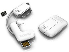 Amazon.com: iBattz Mojo Treble Keychain White Data Sync Cable with Sim Ejection Tool MicroSD card Reader - for Apple iPhone 3gs 4 4s iPad 2 ...
