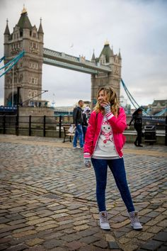 Pink no Inverno (look!) #TaciEmLondres - Taciele Alcolea