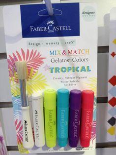 Faber Castell Design Memory Craft Tropical Mix & Match Gelatos