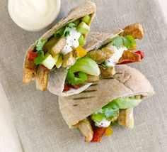 Turkey & pepper pittas - Kids will love this tasty snack-supper, and we bet they'll never know it's superhealthy too - Bbc Good Food Recipes, Cooking Recipes, Healthy Recipes, Healthy Nutrition, Easy Recipes, Snack Recipes, Turkey Lasagna, Food Shows, Kitchens