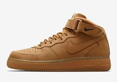 """#sneakers #news  The Nike Air Force 1 Mid """"Flax"""" Is Releasing In Asia This Thursday"""