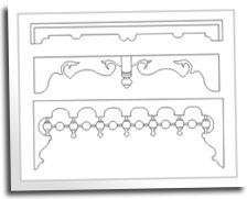 Flat Sawn Balusters Busy Spaces Pinterest Porch