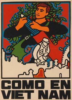 The communist art of René Mederos, Cuban propagandist for Vietnamese revolution | Dangerous Minds