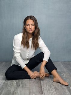Alicia Vikander, July 2016.