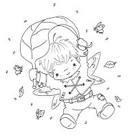 Sliekje digi Stamps: Fairy fun