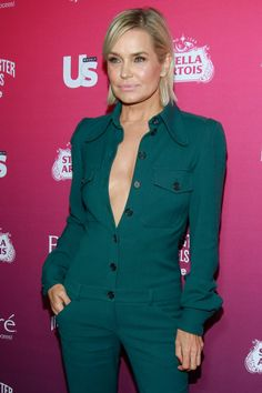 Yolanda Hadid – US Weekly's Most Stylish New Yorkers Party party, Yolanda Hadid Over 50 Womens Fashion, Fashion 2018, Boho Fashion, Chic Outfits, Fashion Outfits, Fashion Boots, Semi Formal Wear, Mode Boho, Jumpsuit Outfit