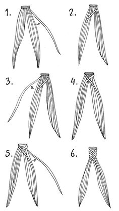 How to fishtail braid.