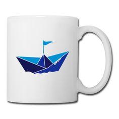 Un bateau de papier Tasses