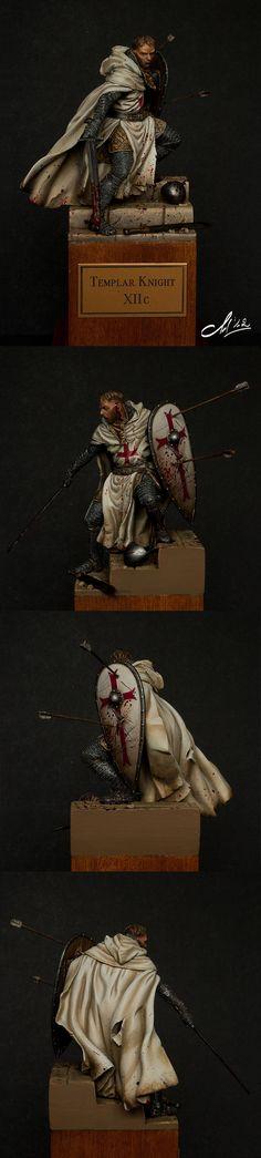 CoolMiniOrNot - Templar Knight XIIc. by Asha