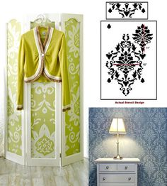 wallpaper DIY home decor room divider