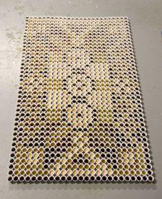 coffee cup carpet