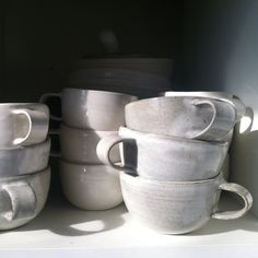clamlab: Fresh batch of mugs (and lots more) just delivered to @stevenalan home!