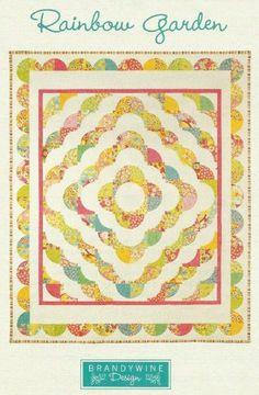RAINBOW GARDEN Quilt Pattern - Brandywine Quilting Design
