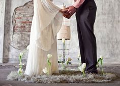 A Whimsical Warehouse Elopement  For Wedding Accessories,visit us.  http://www.bridesadvantageclub.com/Default.aspx?pageId=1475781