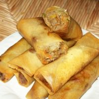 Miss all the filipino food I used to eat in Cali--lumpia recipe