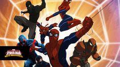 Marvel's Ultimate Spider-Man: Web Warriors season 3 guest voices Spider Man Animated Series, Spider Man Series, Marvel Animation, Animation Series, Spider Man Web Warriors, Marvel Ultimate Spider Man, Spiderman, Marvel Entertainment, Spider Verse
