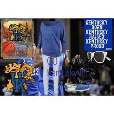"""Go Kentucky!!!!!!!!!"" by peace-471 on Polyvore"