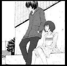 ● Hinami and Ayato