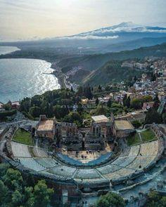 Teatro antico Taormina Sicilia