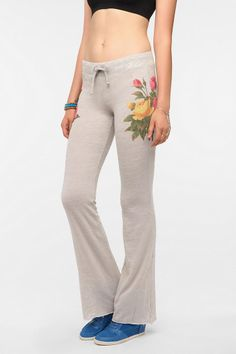 Wildfox Couture Sleeping In Flowers Lounge Pant - so pretty, look SO comfy