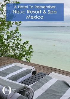 Nizuc Resort & Spa, Mexico, is located very close to Cancun, but a world away from its crowds. It's about 15 minutes from the edge of Cancun and is wonderful. The hotel is beautifully designed, with various activities organised for guests including a SUP yoga class!