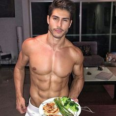 Hey guy, it's so nice of you to make me dinner.