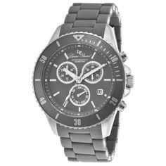 Lucien Piccard Women's LP-93609-104 Mocassino Analog Display Swiss Quartz Grey Watch:Amazon:Watches